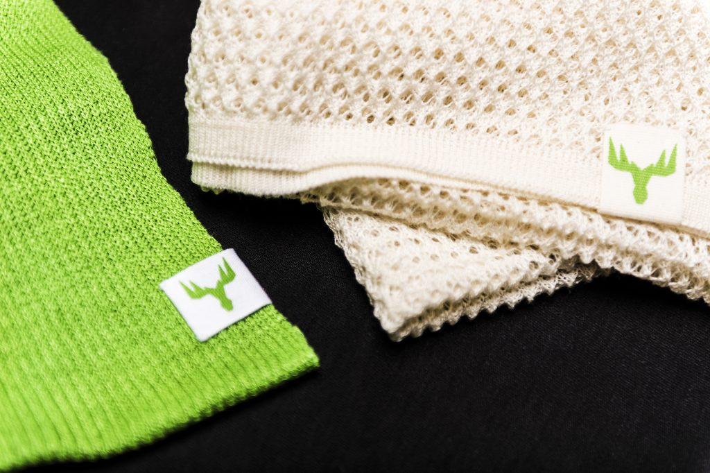 MetsäSpringin tekstiilikuitutuotteita.