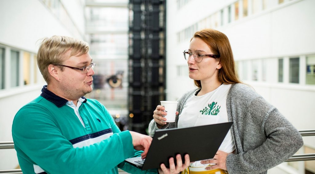 Tutkijoita Biocity Turku